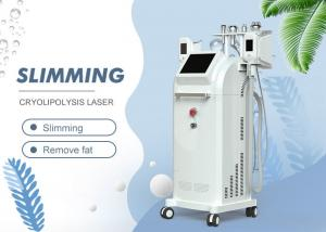China Touch Screen 5 In 1 Slimming Machine / Cryo Lipo Fat Freeze Cavitation RF Vacuum Slimming Equipment on sale