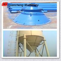 Quick Install 100 ton Piece Cement Tank Steel Cement Silo On Mobile Concrete Batching Plant