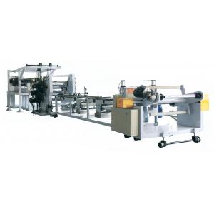 Quality High Output Pvc Board Production Line , Plastic Sheet Making Machine 600-2500mm for sale