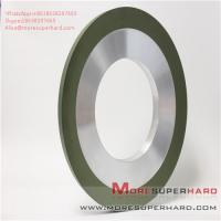 China Surface coating hot spraying resin bond diamond grinding wheel Alisa@moresuperhard.com on sale