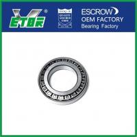 Precision Single Row Taper Roller Bearing For Automobile / Electrical / Equipment