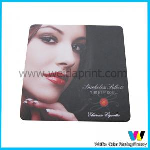 China CMYK offset printing Tissue absorbent personalized bar coasters of absorbent paper on sale