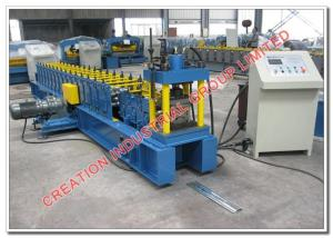 China Galvanised Steel Rolling Shutter Door Profile Sheet Rollforming Production Line with Automatic Cold Roll Former Machine on sale
