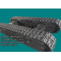 12 ton custom built rubber and steel crawler track undercarriage