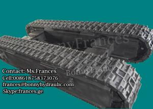 China 12 ton custom built rubber and steel crawler track undercarriage on sale