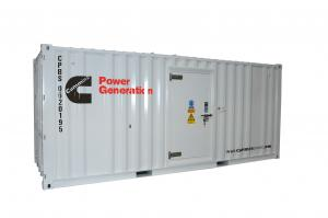 Quality 550kva 440kw Container Diesel Generator Stanford Engine For Highway Equipment for sale