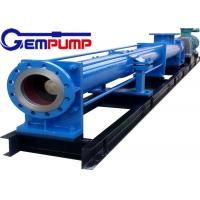I-1B series thick slurry pump /	Single Screw Pump / food industry pump / metallurgy industry pump / chemical pump