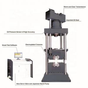 China 780MM Hydraulic Universal Testing Machine For Tensile Compression Shear on sale