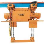 M4 M5 Grade Explosion Protection Electric Chain Hoist With Electric Trolley CE SGS Approved