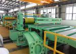 Heavy Load Stainless Steel Slitting Machine High Linear Speed Long Durability Easy Operation