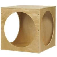 China Wooden Play House Cube on sale