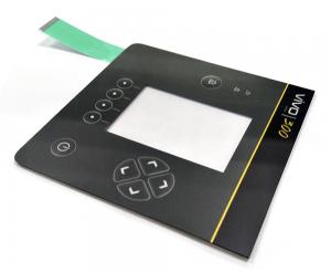 China Embossed Foil Panel LED Membrane Switches Keypad For VIVO Phone Test on sale
