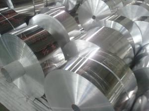 China Alloy 1235 Mill Finished Industrial Aluminum Decorative Foil for Cigarette and Food Packing on sale