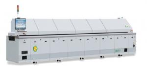 China Grey SMT Pcb Reflow Oven Machinery Guide With Special Hardening Treatment on sale