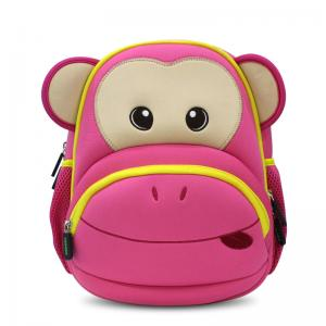 China Neoprene Cute Girls School Bags Animal Backpack Wear Resistant on sale