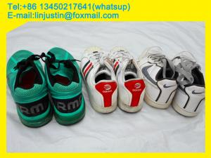 China Grade A Used Shoes Export To Africa Market Good Quality on sale