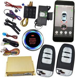 China Remote Car Starter Iphone Smartphone Car Alarm , Start Your Car With Your Phone on sale