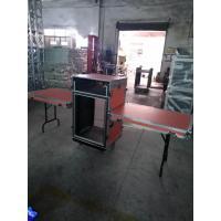 18 U Heavy Duty Aluminum Rack Flight Case / Custom Shockproof Mount Amplifier Rack Case