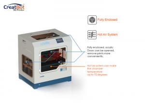 China CreatBot 3d printer:  F430 (dual extruders, manufacturer in China on sale