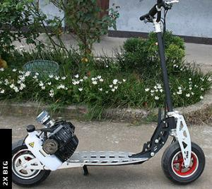 China EVO gasoline scooter 52cc 2Xspeed 71CC 2stroke engine with alloy exhaust  free shipping on sale