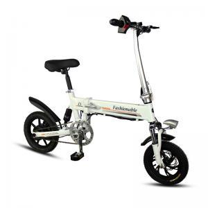 China Color Black / White Folding Electric Bike YT Z1 6061 Aluminum 12/14/16 Inch on sale