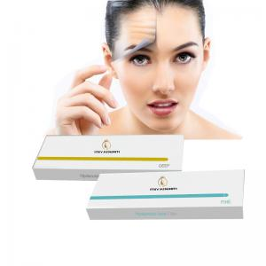 China High quality hyaluronic acid injectable filler 1ml 2ml for anti-wrinkle on sale