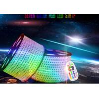 China Ip67 Led Rgb Strip Lights , 80ra High Voltage Led Strip Extremely Luminous on sale
