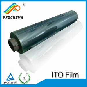 China 100ohm Transparent Conductive ITO Film For Smart Glass on sale