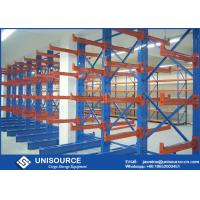 China Double Sided Cantilever Rack OEM , Heavy Duty Cantilever Warehouse Racks on sale