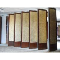 Easy Operate Soundproof Sliding Partition Walls , Multi Color Folding Room Dividers