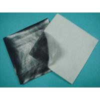 Smooth Surface HDPE Geomembrane Liner , Waterproof Heated Non Woven Geotextile 400GSM
