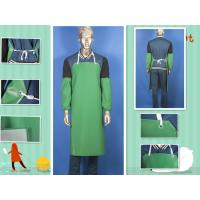 PVC Coated Polyester Protective Clothing Aprons For Chemical Resistant