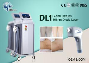 China Germany Bars Permanent Laser Hair Removal Machine / Diode Laser 808nm Pain Free on sale