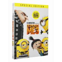 Hot selling Despicable Me 3  Cartoon Disney DVD Movies,new dvd,bluray