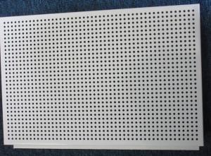 China Aluminum Perforated Sheet Metal Round Holes for Wall Decoration on sale