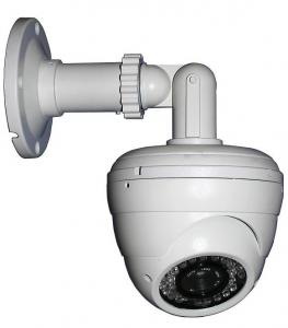 China 720P HD Dome Wireless IP Cameras PTZ With 4-9mm Lens 25fps , HTTP / FTP on sale