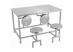 China Random Pattern Stainless Steel Dining Table And Chairs Any Size Available on sale