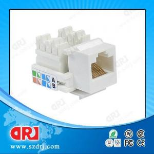 China 24Awg - 26Awg UTP Rj45 Connector , Cat5e Connector For Microwave wholesale