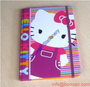 China china office stationery cheap custom a5 hardcover pu leather notebook on sale