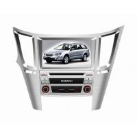 China For Subaru Legacy 2010-2012, 8 Inch In dash Car Auto DVD Player with SRS / BT / TV / IPOD DR8758 on sale