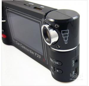 China Single Channel 50HZ 2.0 Inch TFT screen Dual Channel Car Camera Built in Li ion Battery for Car on sale