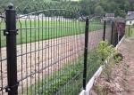 656  /868 PVC coated Twin Wire Panel Fence Height 1630 X2500MM  Round Post 50MM