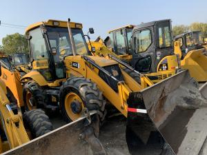 China Made In UK JCB 4CX Used Backhoe Loader 4 Wheel Drive / JCB Backhoe Loader 4CX on sale