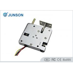 China Automatic open door Electric Cabinet Lock / Solenoid lock With door sensor NO/COM on sale