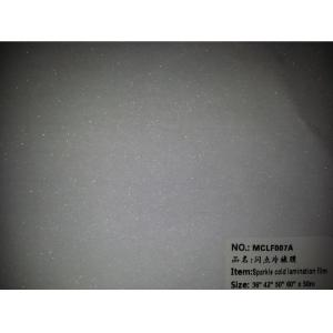 China sparkle cold laminating film on sale