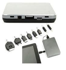 China Electricity-saving 5000mAh double usb 5V Power BanK for Iphone / Ipod, Ipad, PAD, MP3, MP4 on sale