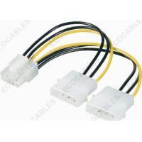 China Prise 8pin de PCI-E au câble équipé de la prise de puissance d'ide 4pin Molex/au câble équipé harnais de fil on sale
