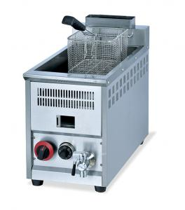 China Potato Chips Oil Free 1 Tank Electric Deep Fryer , Double Fryer Deep Fryers on sale