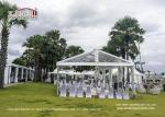 Semi Permanent Durable Commercial Wedding Tent Clear - Span Width 12m
