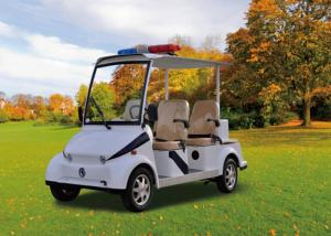 China Police 4 Seater Electric Patrol Car , Electric Security Vehicles Street Legal on sale